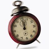 Alarm clock. Ringing royalty free stock image
