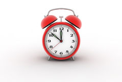 Alarm clock 3D Stock Photo