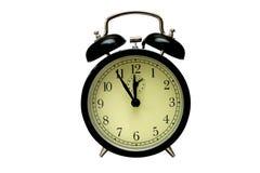 Alarm-clock. Alarm clock five to twelve Stock Image