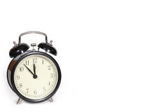 Alarm clock. Old-fashioned alarm clock Royalty Free Stock Images