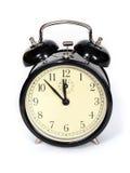 Alarm clock. Old-fashioned alarm clock Stock Image
