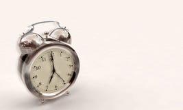 Alarm clock. 3d illustration of an alarm clock over white background royalty free illustration