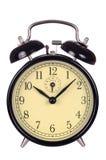 Alarm Clock. Old, classic alarm clock isolated on white background Royalty Free Stock Photo