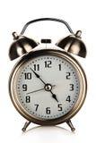 Alarm clock. Isolated on white background Stock Photos
