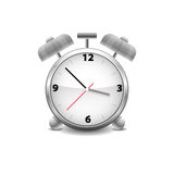 Alarm clock. Is eternal friend Royalty Free Stock Photo