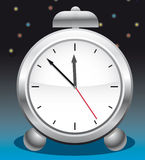 Alarm clock with a bell Royalty Free Stock Photography