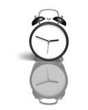Alarm clock with blank face Stock Photos
