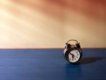 Alarm clock blinds Stock Image