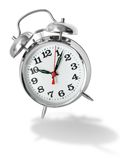 Alarm clock bouncing Royalty Free Stock Photography