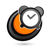 Alarm clock button Royalty Free Stock Photos