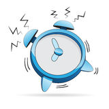 Alarm Clock Cartoon Stock Photo
