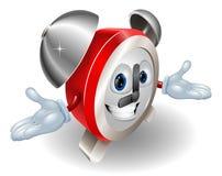 Alarm clock character illustration Royalty Free Stock Image