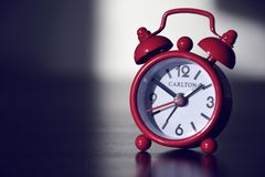 Alarm Clock, Clock, Close Up, Product royalty free stock image