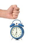 Alarm clock closeup Royalty Free Stock Photo