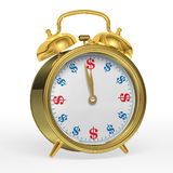 Alarm Clock 3D Royalty Free Stock Images