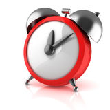 Alarm clock 3d illustration Royalty Free Stock Photos