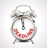 Alarm clock - deadline Royalty Free Stock Image