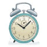 Alarm clock doodle Stock Photos