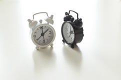Alarm clock friends Stock Photo