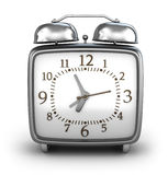 Alarm clock. Front view Royalty Free Stock Photography