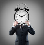 Alarm clock-head Royalty Free Stock Photography