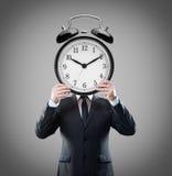 Alarm clock-head Royalty Free Stock Photography