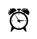 Alarm clock icon Stock Photo
