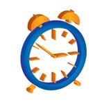 Alarm clock illustration Stock Images