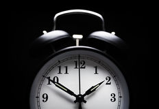 Alarm clock insomnia Royalty Free Stock Images