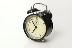 Alarm clock isolated royalty free stock image