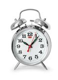 Alarm clock isolated Royalty Free Stock Photo