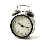Alarm Clock Isolated Stock Photography