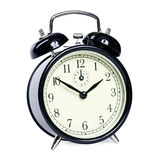 Alarm clock isolated stock images