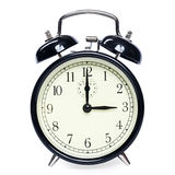 Alarm clock isolated Royalty Free Stock Photos