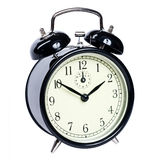 Alarm clock isolated Stock Photo