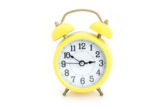 Alarm clock isolated. Royalty Free Stock Images