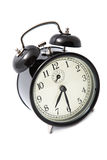 Alarm clock isolated over white Stock Image
