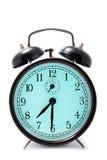 Alarm clock isolated over white Stock Image