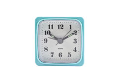 Alarm clock isolated on the white Royalty Free Stock Photo