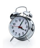 Alarm clock. Isolated on the white background Stock Photo