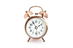 Alarm clock isolated. Stock Photo