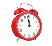 Alarm Clock Isolated. On white background. 3D render Stock Photo