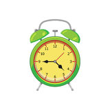 Alarm clock. Isolated on white background. Vector illustration. Eps 10 Stock Images
