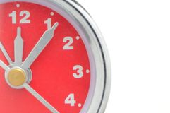 Alarm clock macro Royalty Free Stock Images