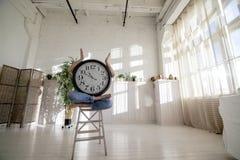 Alarm clock man. Stock Photo