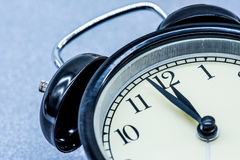 Alarm clock, Midnight Stock Photo