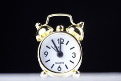 Alarm Clock miniaturized Royalty Free Stock Photography