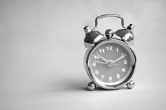Alarm clock mono Royalty Free Stock Image
