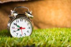 Alarm clock in the morning. Stock Image