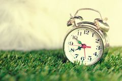 Alarm clock in the morning. Stock Images
